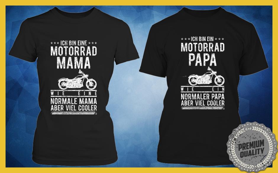 Motorrad-Mama-Papa
